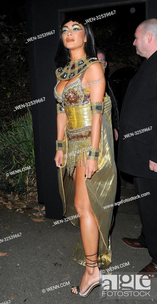 Nicole Scherzinger Halloween Costume.Celebrities Attend Jonathan Ross Halloween Party 2017 Featuring