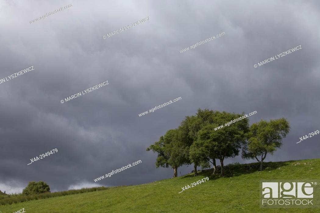 Stock Photo: Before the Storm, Cairngorms National Park, Scotland, UK.