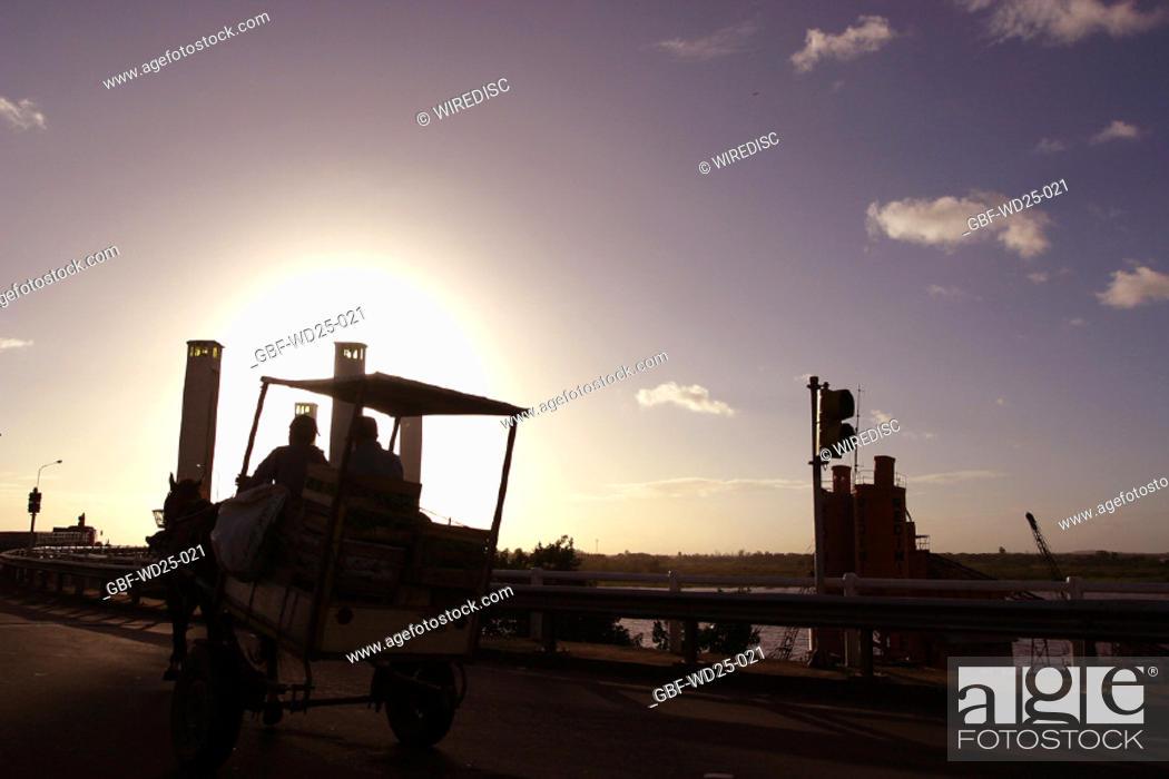 Stock Photo: Transport, tractor, farm.