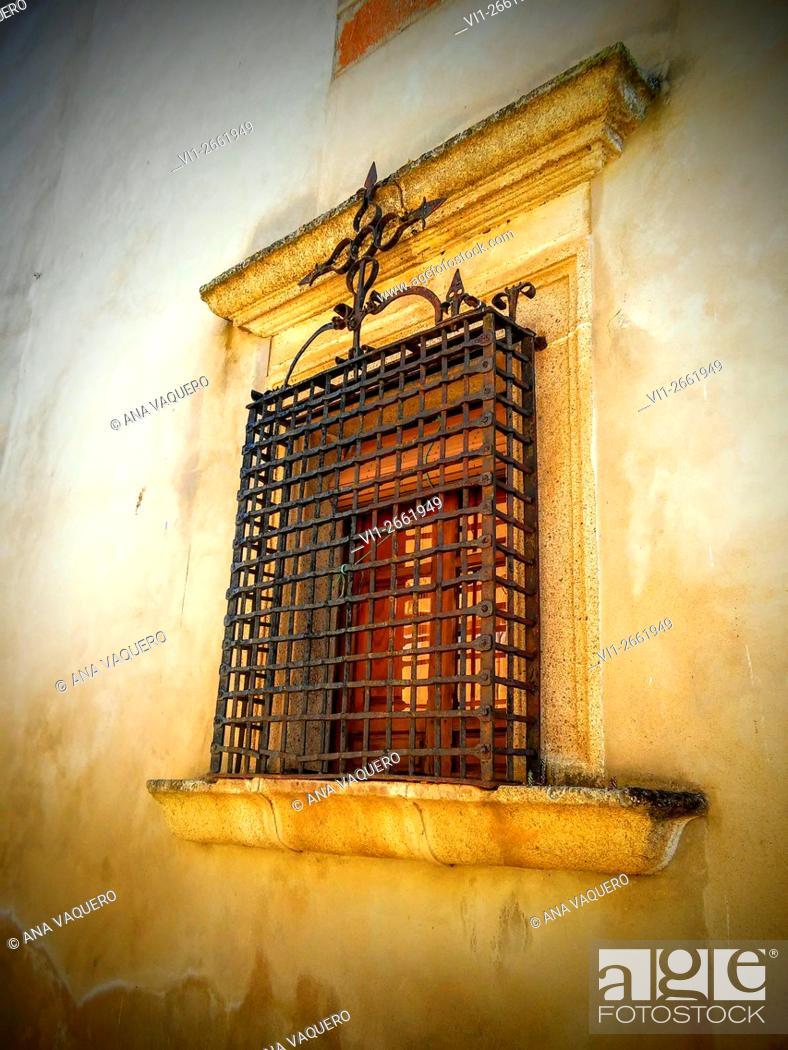 Stock Photo: Villamesias, Cáceres, Extremadura, Spain.
