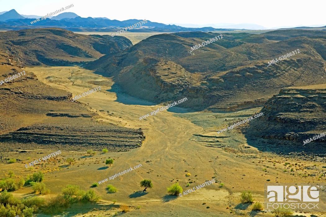 Stock Photo: Africa, South Africa, Namaqua, Ai-Ais Richtersveld Transfrontier park, Richtersveld national park, Potjiespram, Oranje, border river, South Africa, Namibia,.