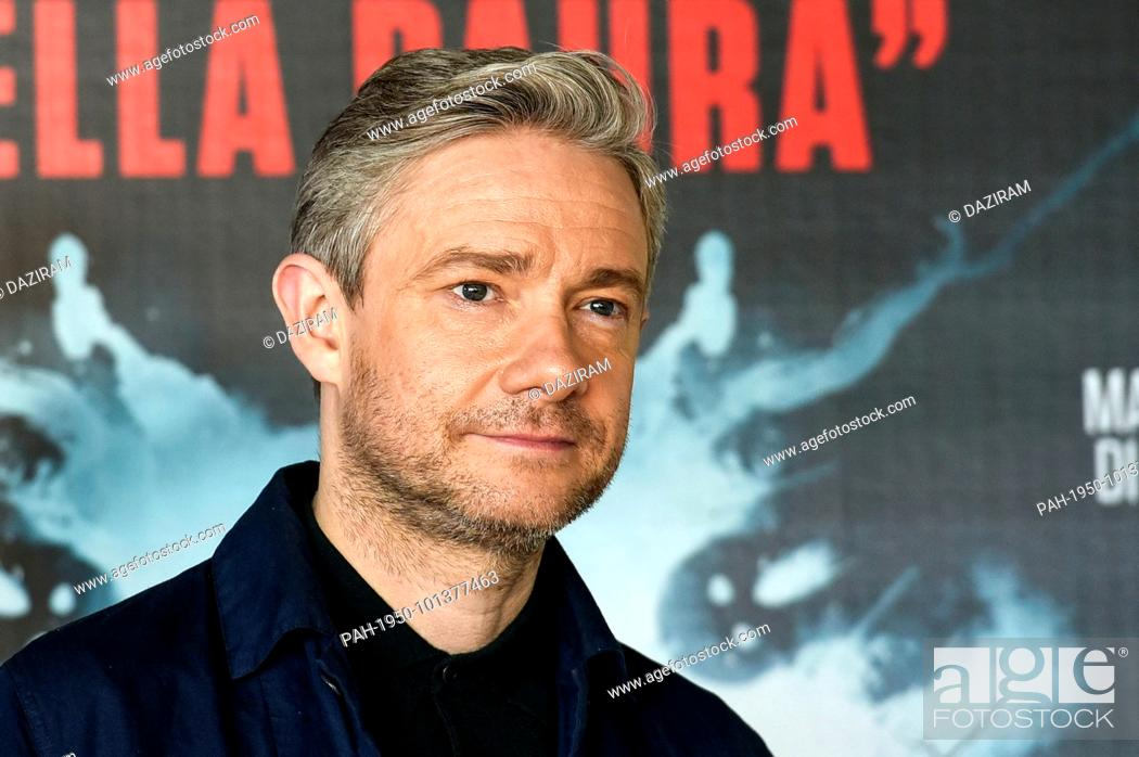 Martin Freeman attends the 'Ghost Stories' photocall at the
