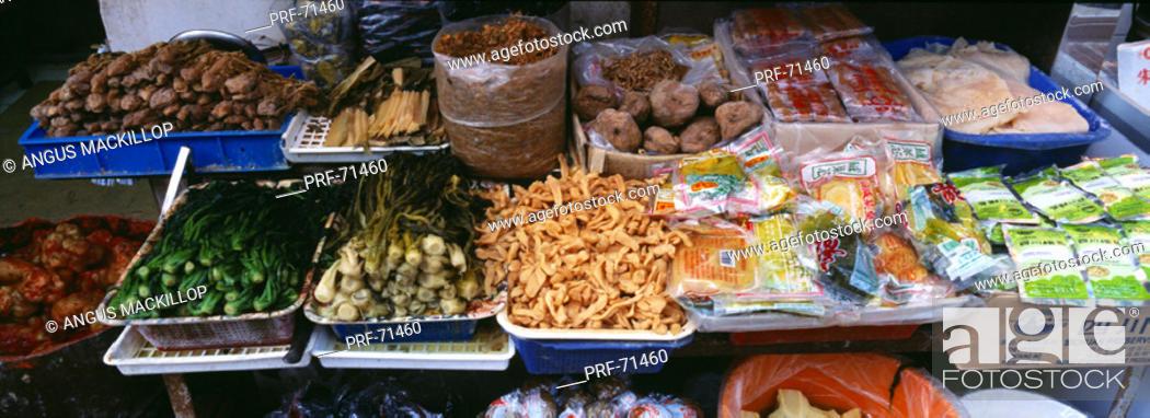 Stock Photo: Food Stall Hong Kong.