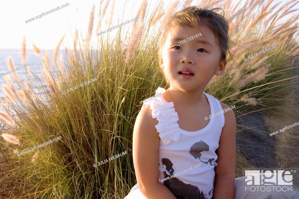Stock Photo: Sweet asian girl.