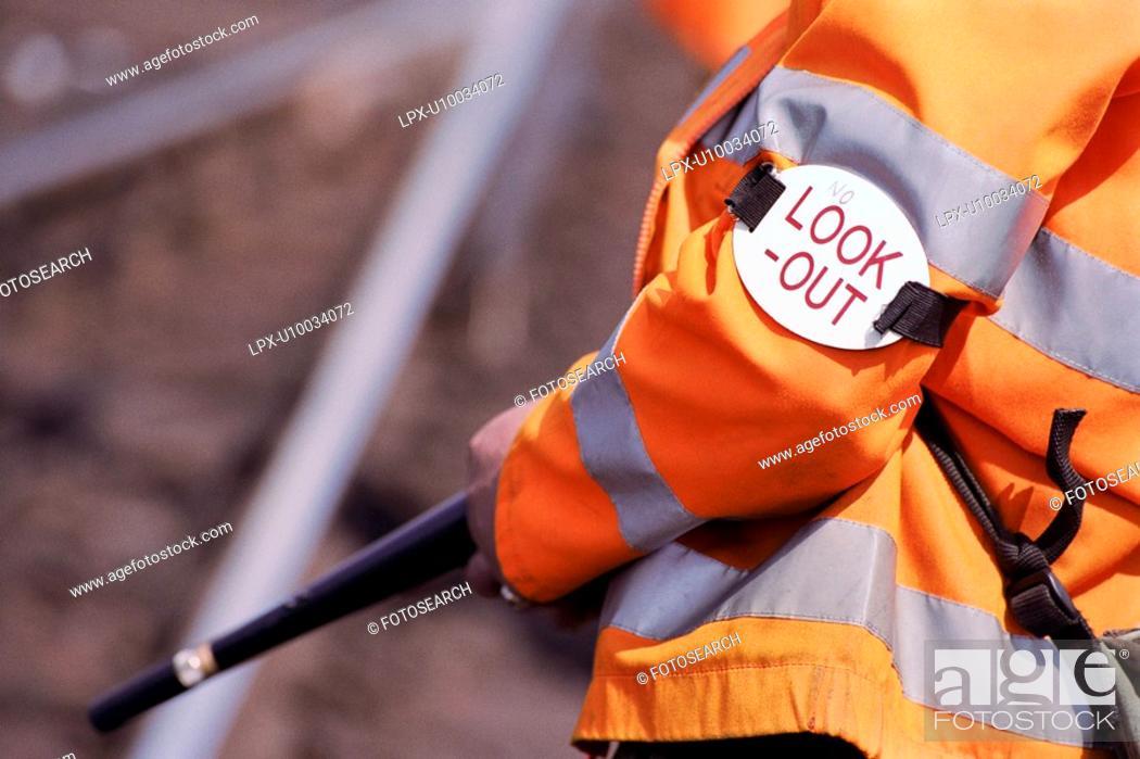 Stock Photo: Rail Maintenance.