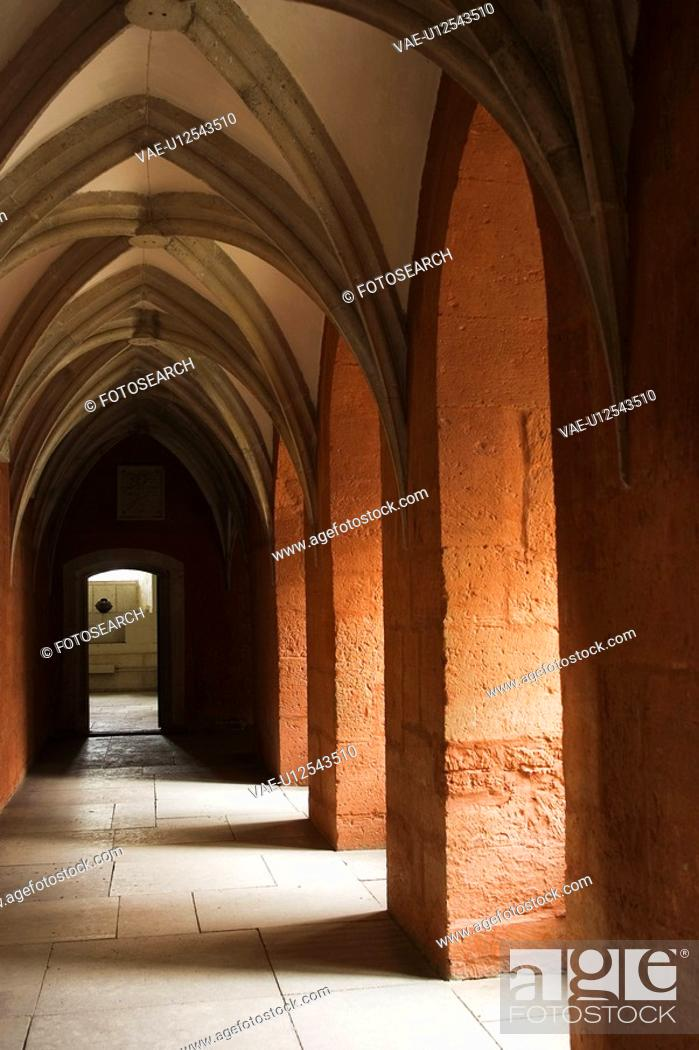 Stock Photo: Architecture, Close-Up, Ceiling, Art, Arch.