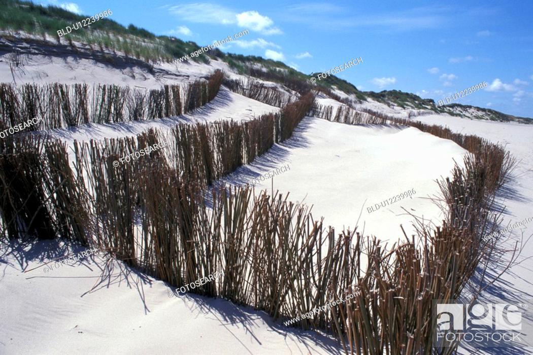 Stock Photo: White beach sand.