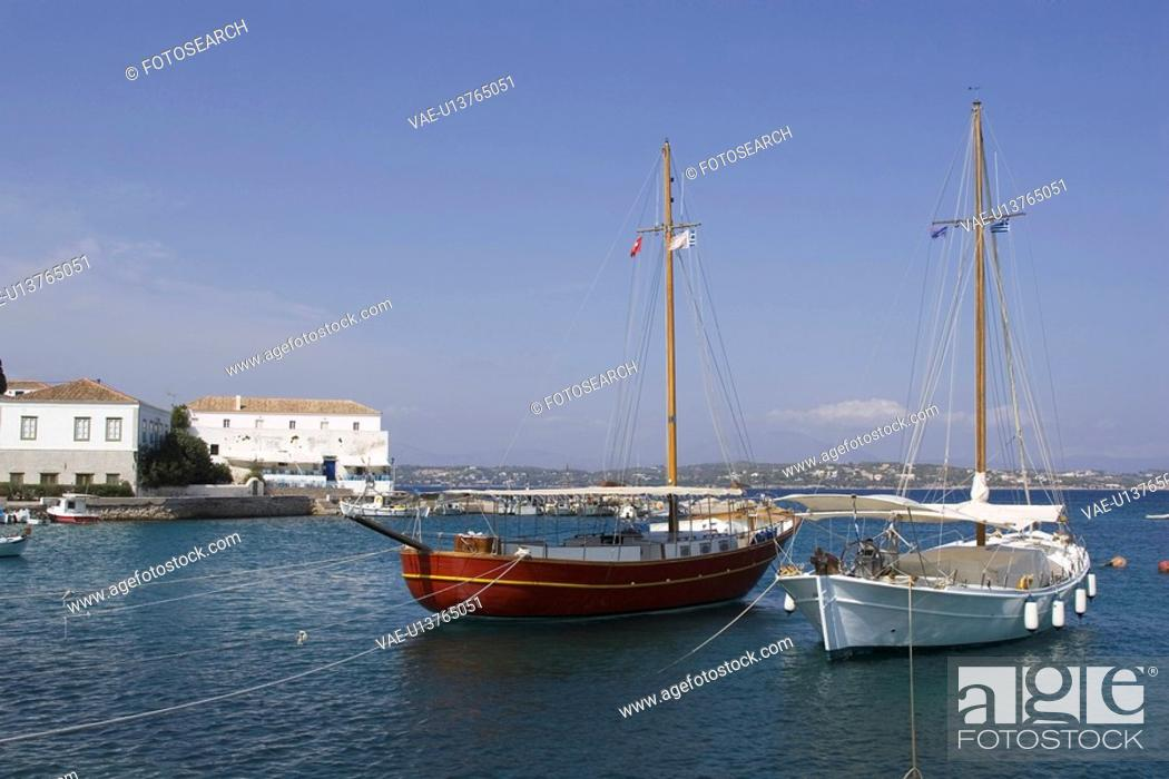 Stock Photo: Building Exterior, Building Structure, Day, Harbor.