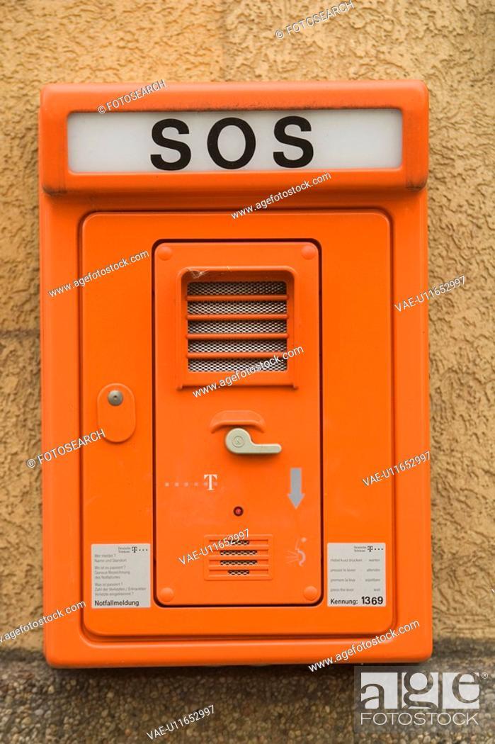 Stock Photo: Capital Letter, Close-Up, Electronics, Emergency Equipment.