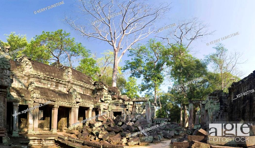 Imagen: Cambodia Temples of Angkor Ta Prohm Inner sanctuary.