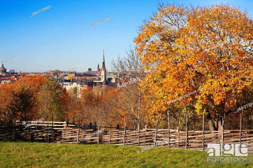 Stock Photo: Skansen, Stockholm, Sweden.