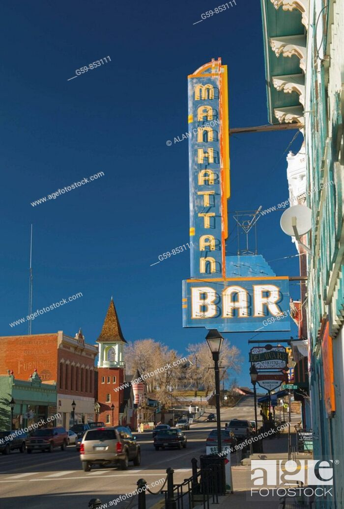 Stock Photo: USA, Colorado, Leadville.