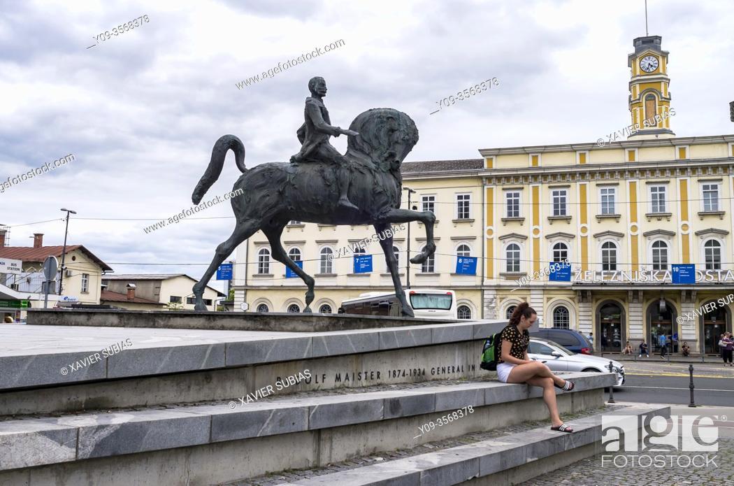 Imagen: Rudolf Maister monument, Ljubljana, Slovenia.