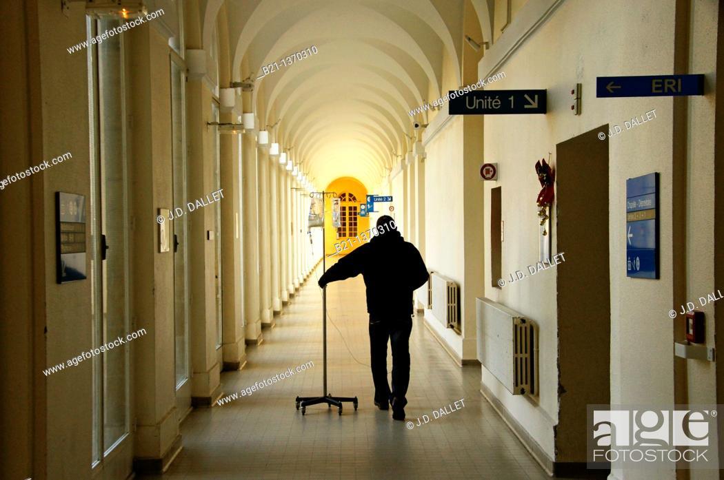 Stock Photo: Saint André Hospital, Bordeaux, Gironde, Aquitaine, France.