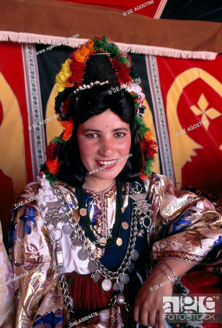 A Girl In Traditional Costume Rose Festival El Kelaa M Gouna