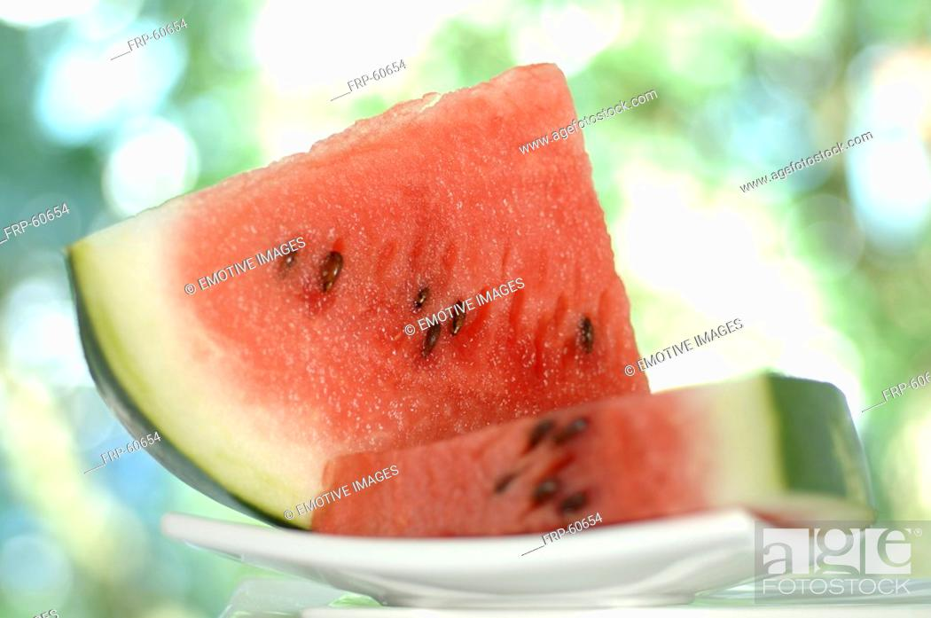 Stock Photo: Water melon.