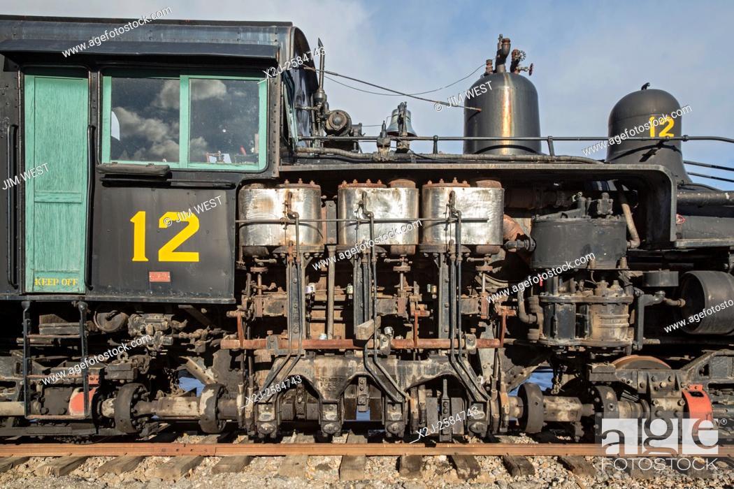 Golden, Colorado - A West Side Lumber Company narrow gauge