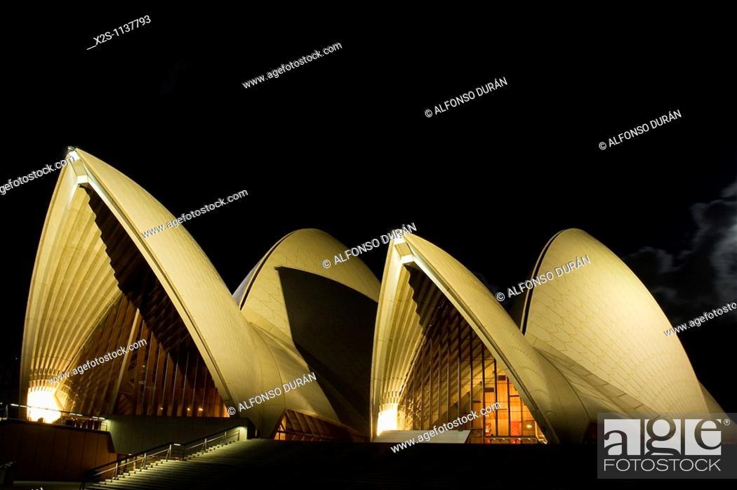 Stock Photo: Opera House, Sydney, New South Wales, Australia.