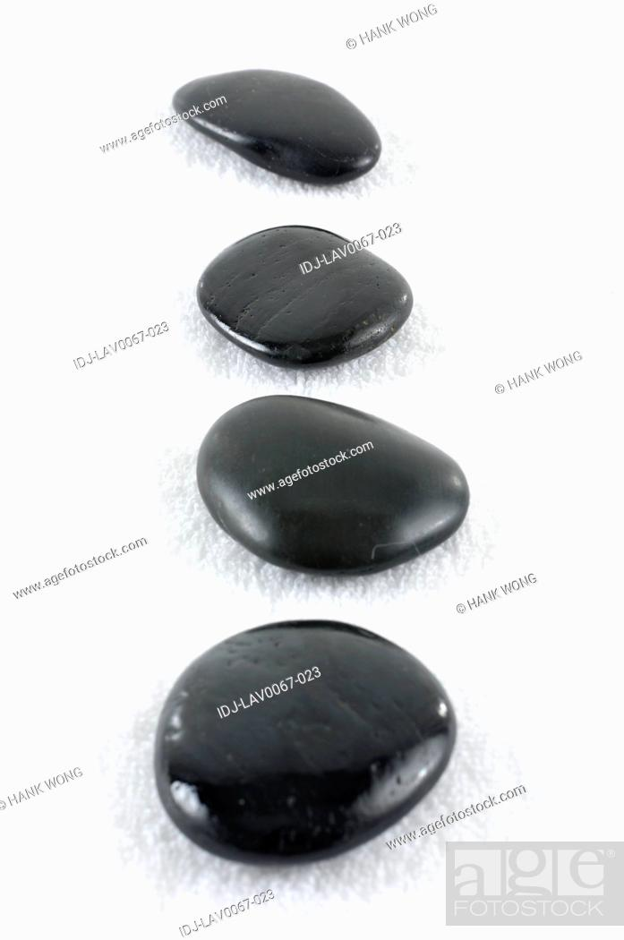 Stock Photo: Close-up of pebbles.