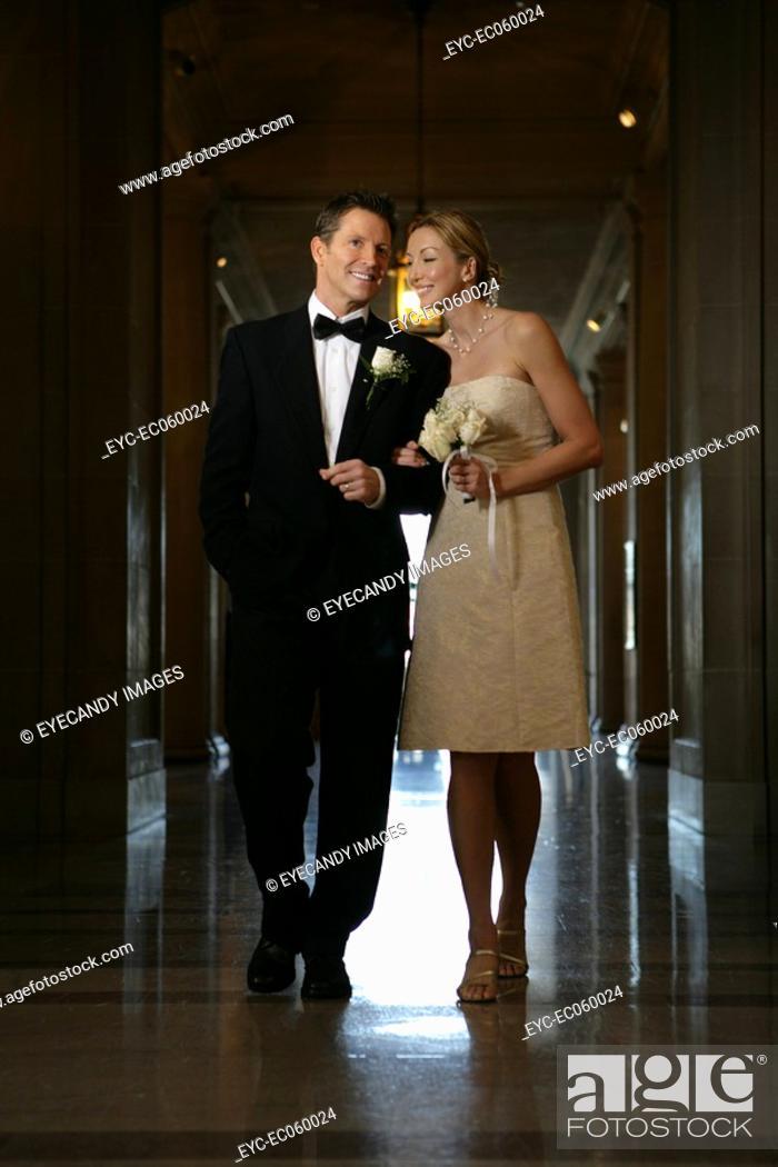 Stock Photo: Boomer couple walking.