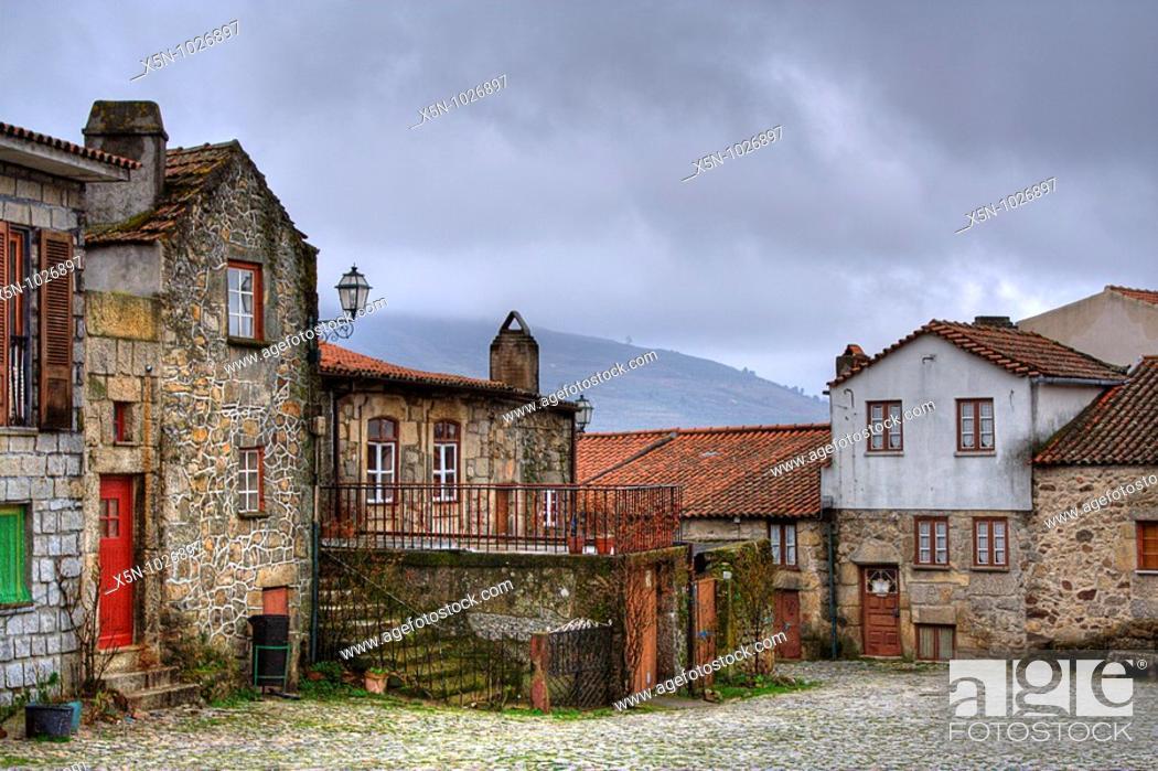 Stock Photo: Linhares, Portugal.