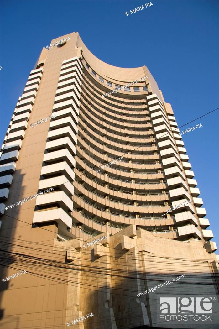 Stock Photo: Hotel Intercontinental, Bucharest, Romania.