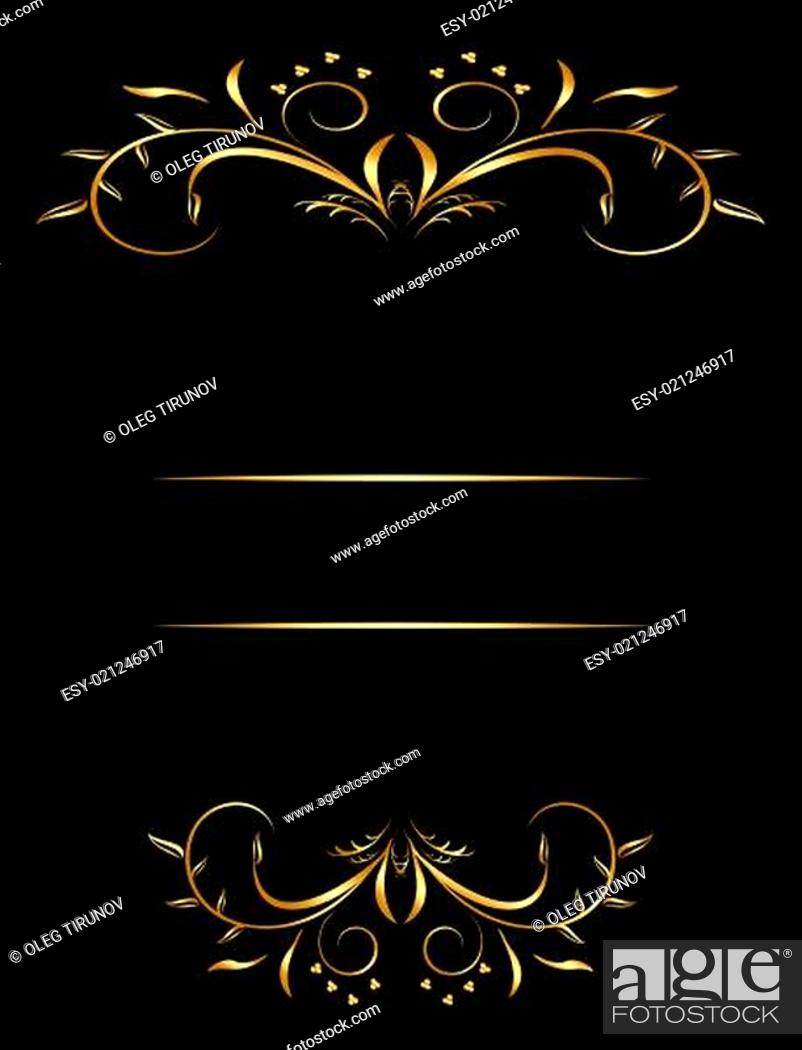 Imagen: Luxury card or invitation.