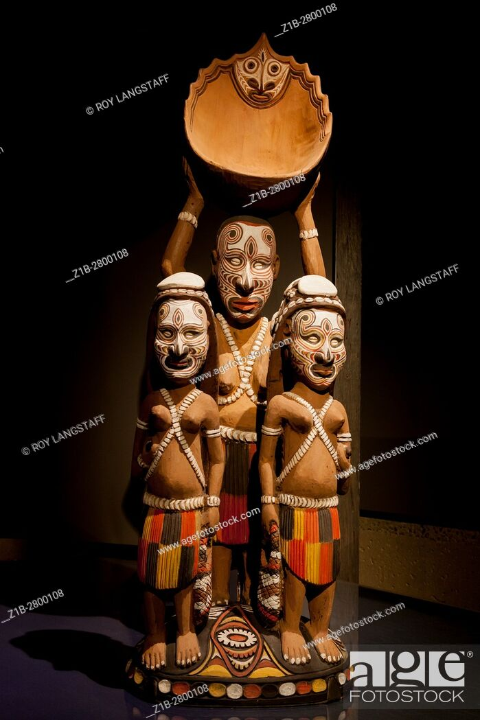 Stock Photo: Indigenous art from Papua, New Guinea.