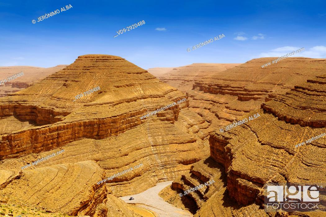 Imagen: Landscape. Dades Valley, Dades Gorges, High Atlas. Morocco, Maghreb North Africa.