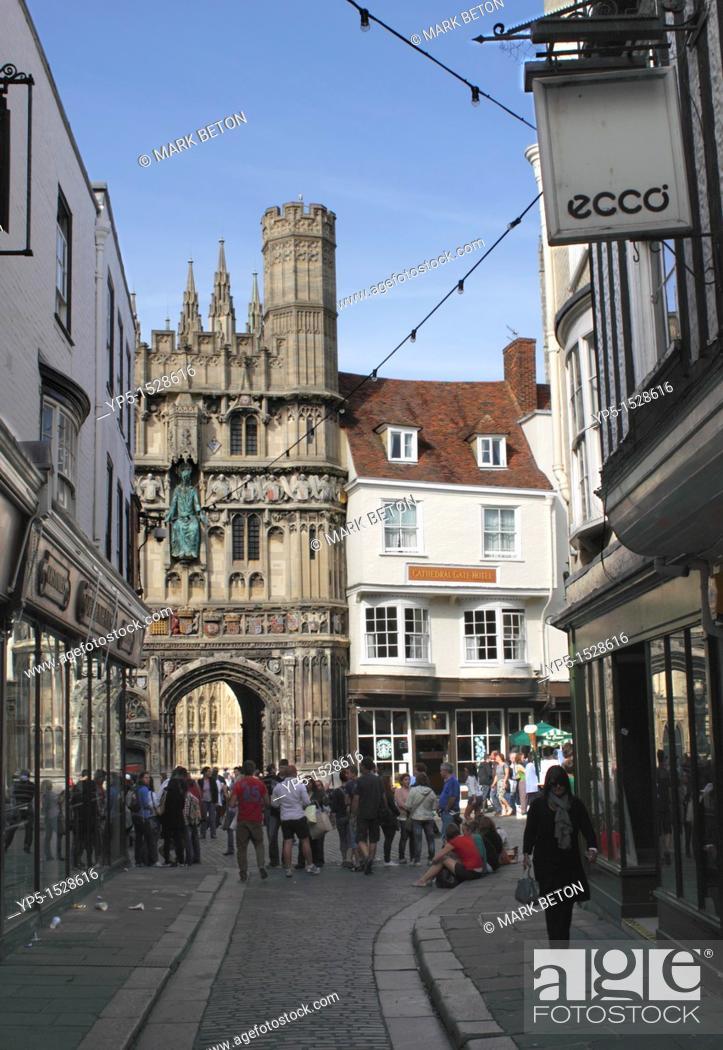 Christ Church Gate to Canterbury