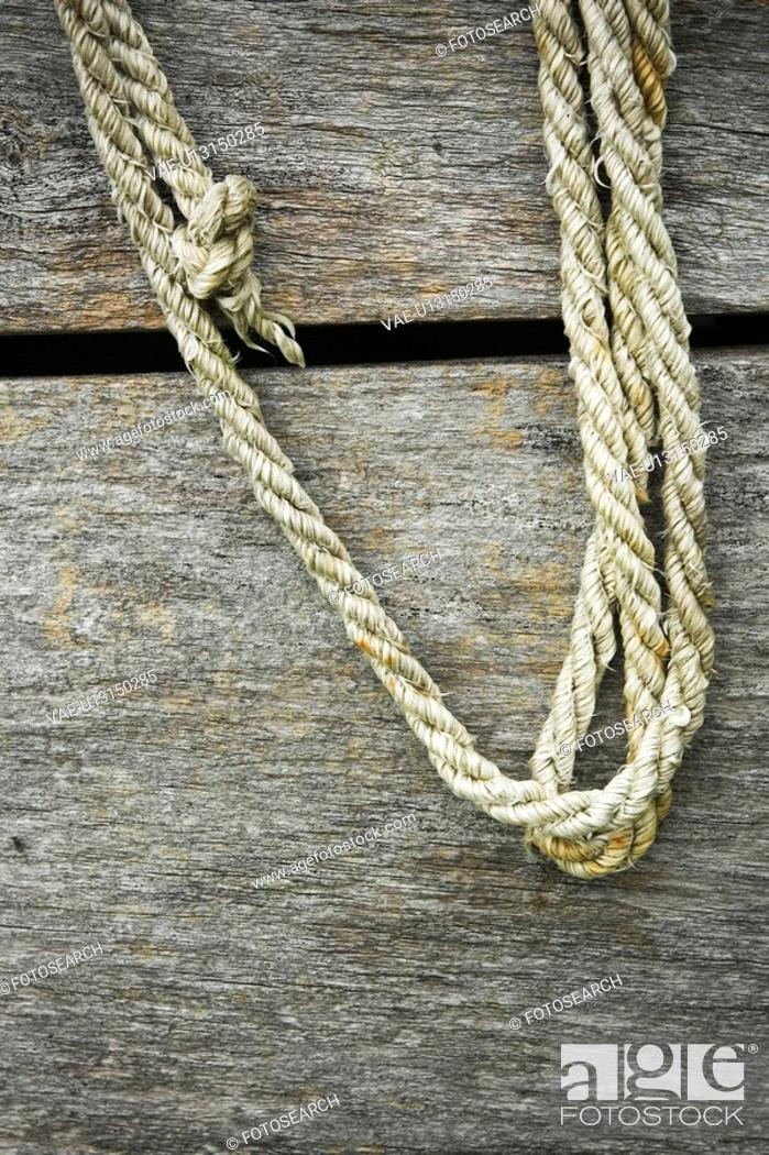 Stock Photo: Boat, Close-Up, Day, Details, Hanging.