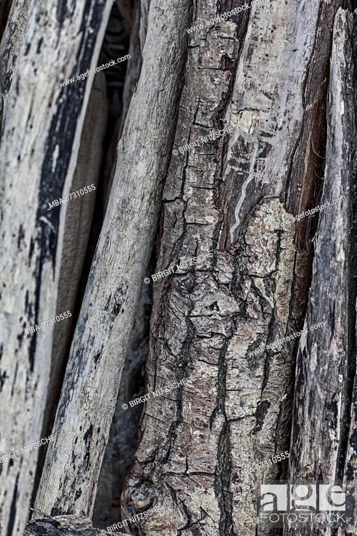 Stock Photo: Background of driftwood.