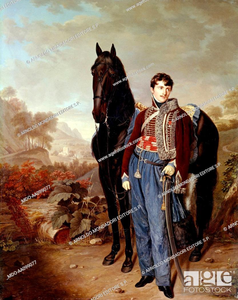 Imagen: Portrait of John Rocca (Portrait de John Rocca), by Pierre Louis Bouvier, 19th Century, oil on canvas.