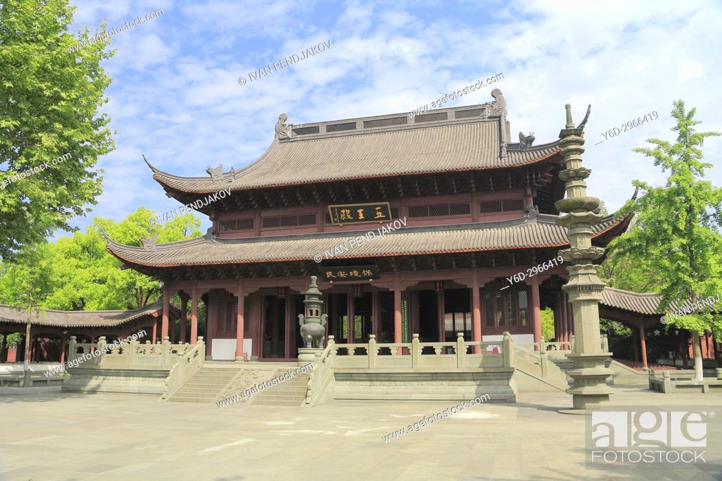 Imagen: Qianwangci Temple, Hangzhou, China.