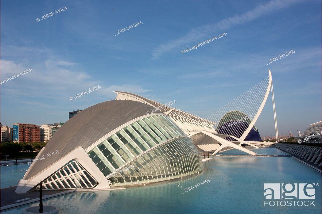 Imagen: City of Arts and Science, Valencia, Spain.