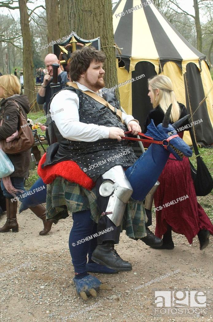 Stock Photo: Kasteel de Haar, Elf Fantasy Fair.