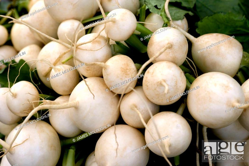 Stock Photo: Turnips.