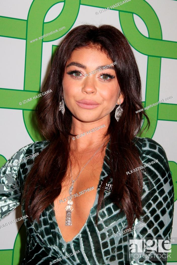 Imagen: Sarah Hyland 01/06/2019 The 76th Annual Golden Globe Awards HBO After Party held at the Circa 55 Restaurant at The Beverly Hilton in Beverly Hills.