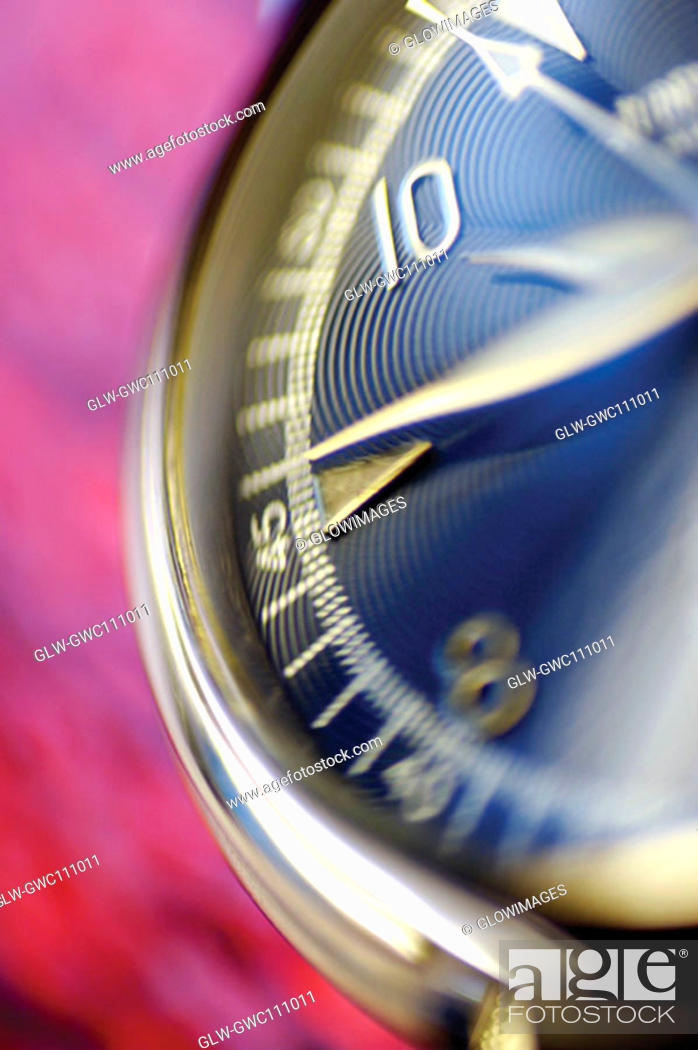Stock Photo: Close-up of a wristwatch.