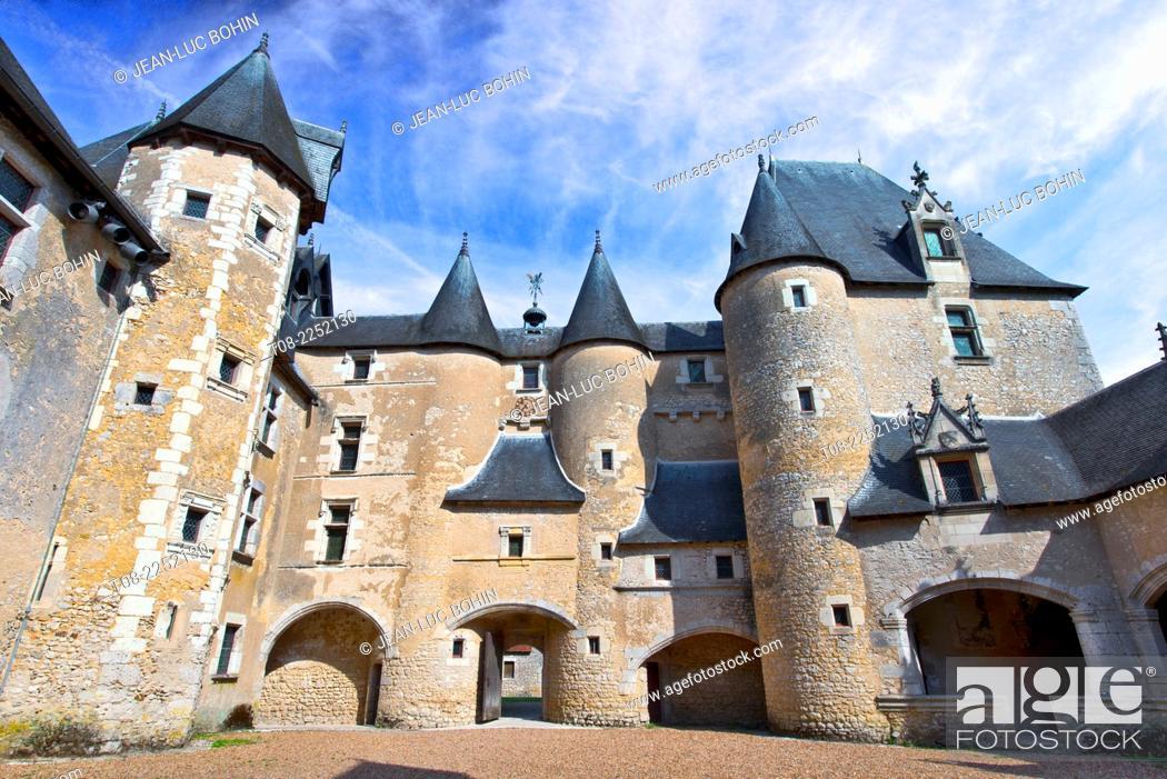 Imagen: france, 41, loire castles : fougères-sur-bièvres castle.