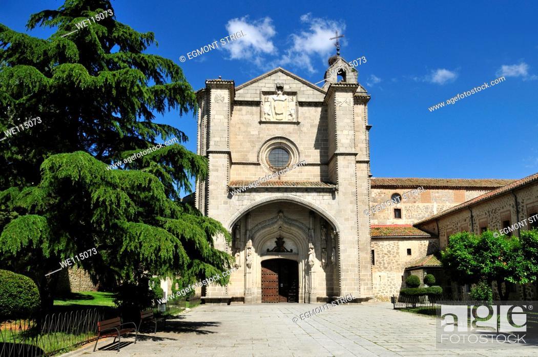 Imagen: Europe, Spain, Castile and Leon, Castillia y Leon, Avila, Unesco World Heritage Site, Real Monasterio de St  Thomas.