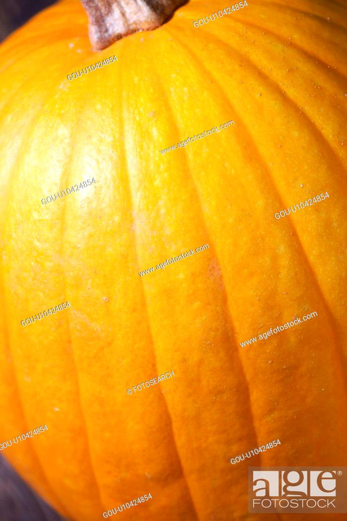 Stock Photo: Pumpkin.