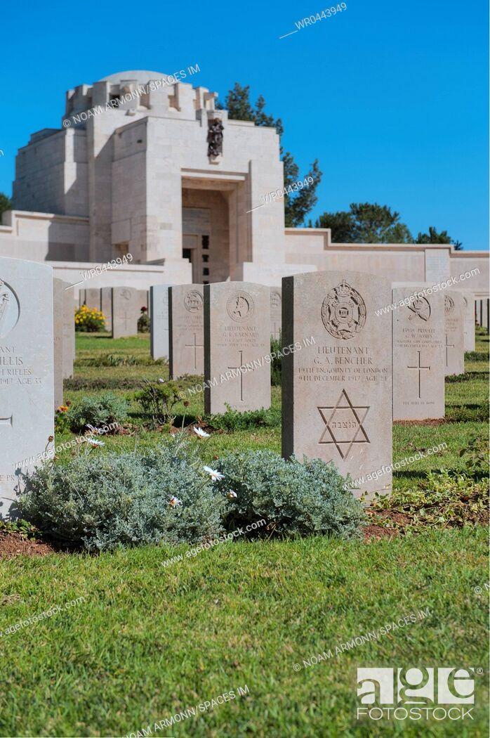 Imagen: Jerusalem Brithish war cemetery.