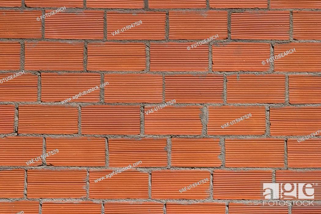 Stock Photo: array, bricks, architecture.