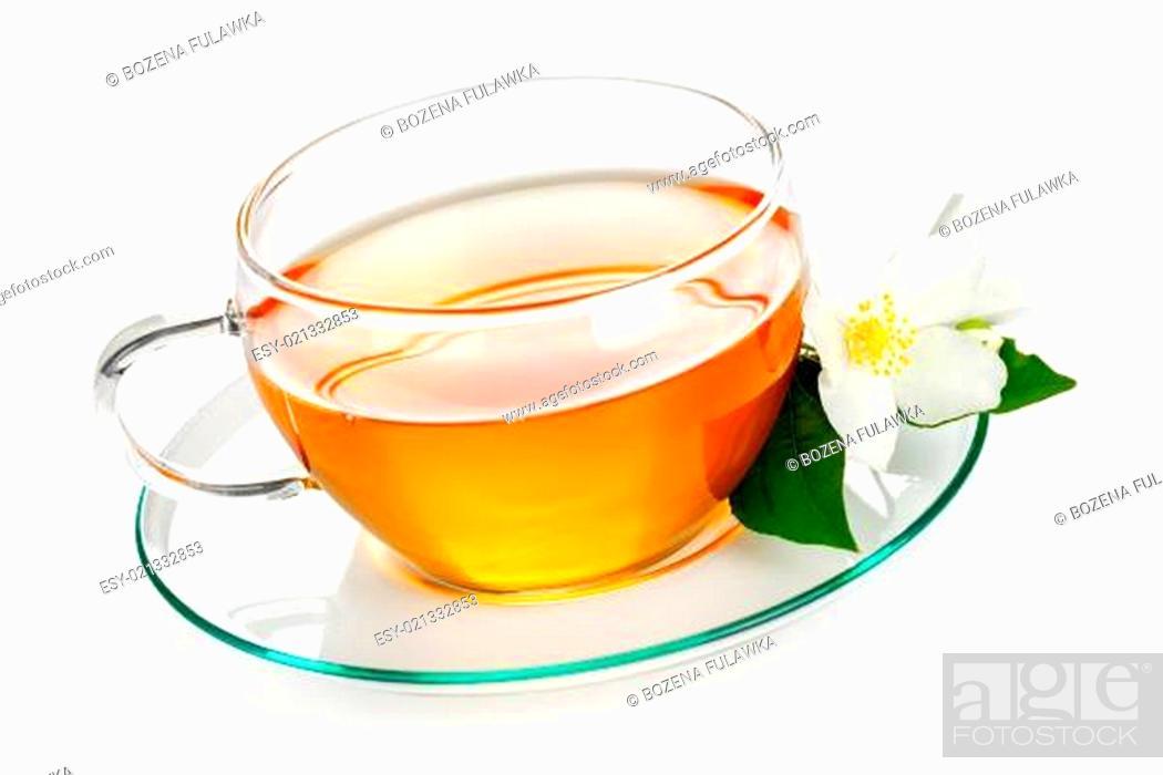 Stock Photo: Jasmine Tea.