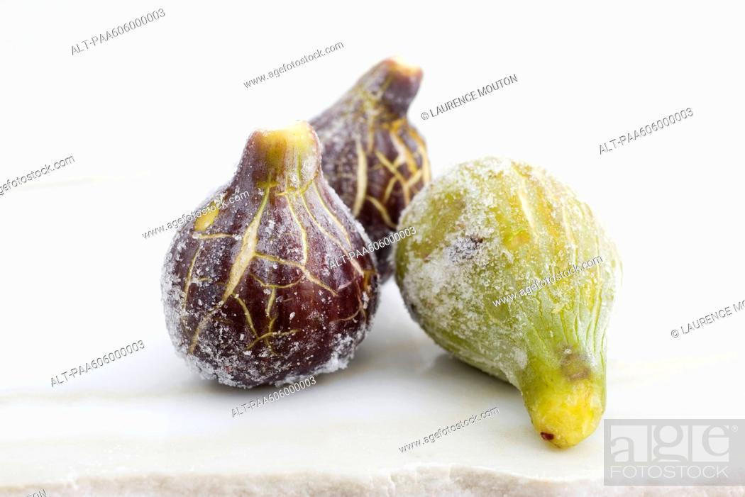 Stock Photo: Fresh figs.