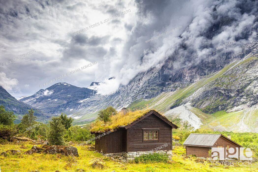 Imagen: Erdalen Valley in Jostedalsbreen National Park, Vestland, Norway.