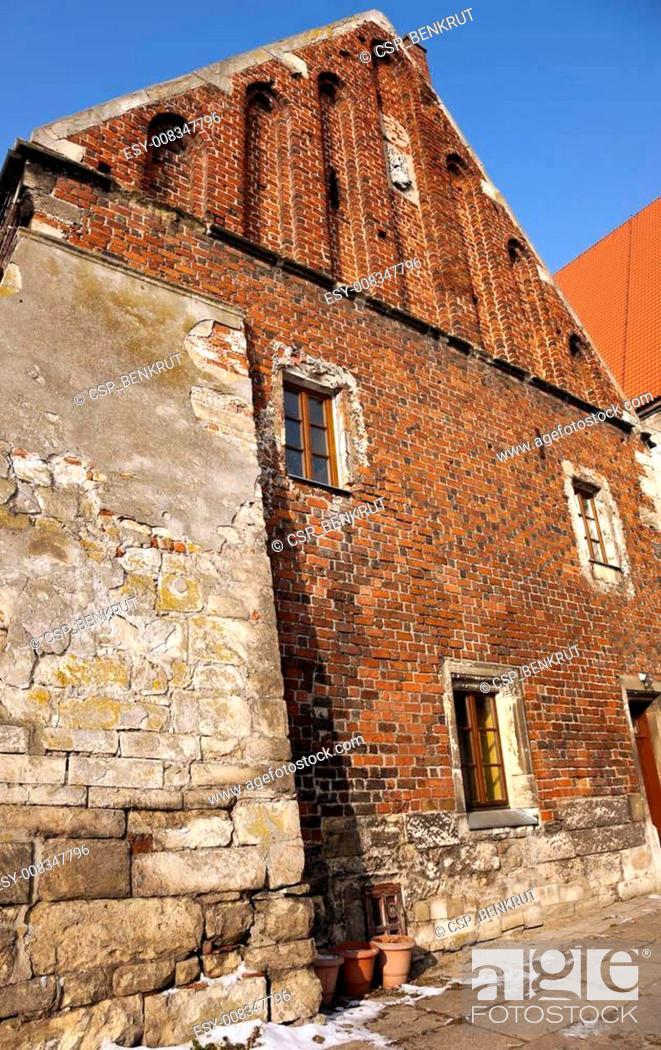 Stock Photo: Dlugosz's House in Wislica.