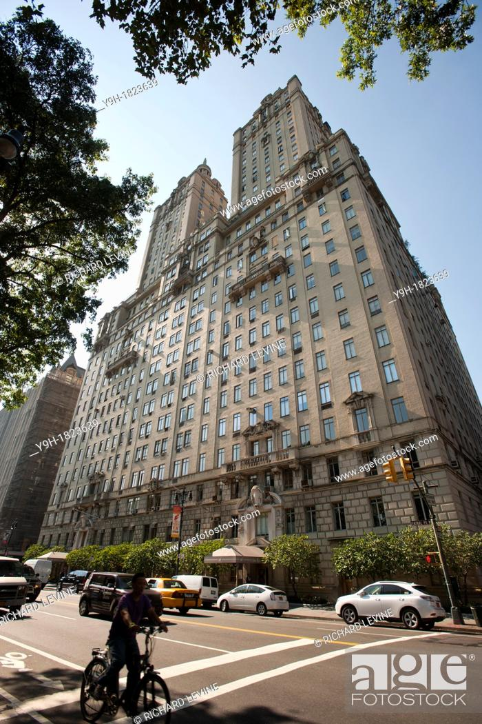 Stock Photo: The San Remo apartment building in the Upper West Side neighborhood in New York Of the top ten fundraising zip codes five of them are in Manhattan and split.