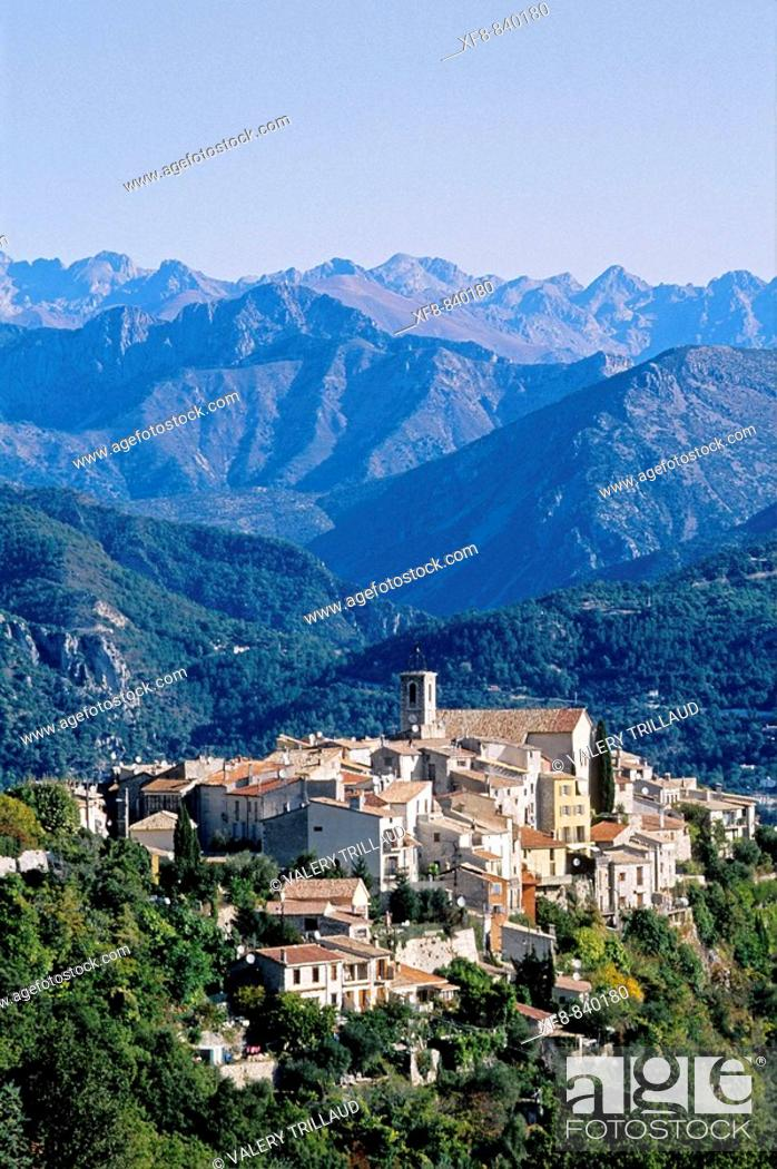 Stock Photo: Bouyon, Alpes-MAritimes, 06, French Riviera, Côte d'Azur, PACA, France, Europe.
